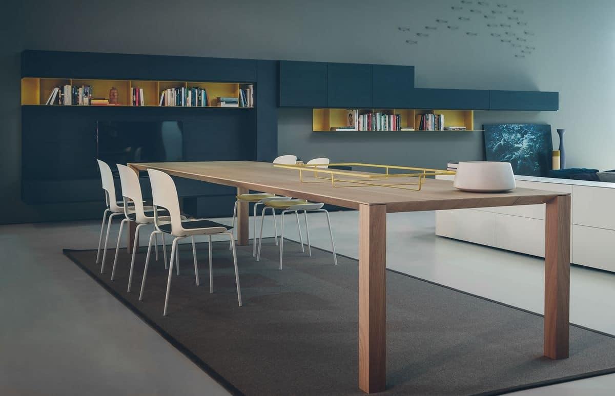 Tavolo da pranzo in legno disponibile in varie misure for Tavoli pranzo legno
