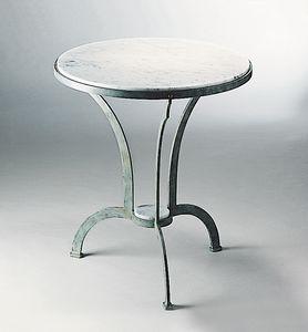 ARCHI GF4013TA-RO, Tavolo per esterno in ferro con piano in marmo