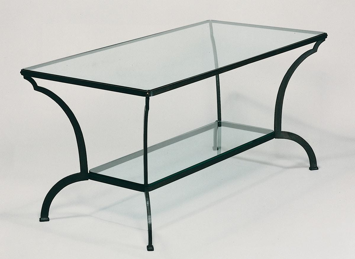 Tavoli Da Terrazzo In Ferro : Tavolo da esterno in ferro e cristallo idfdesign