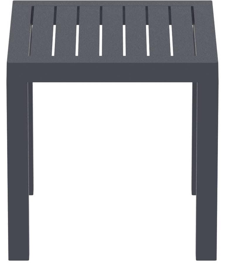 Tavolino quadrato per esterni tavolino in plastica per - Tavoli in plastica da esterno ...