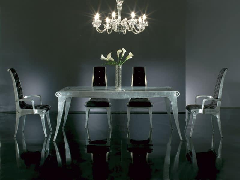 Tavolo in legno tavolo in stile classico contemporaneo for Tavoli contemporaneo design