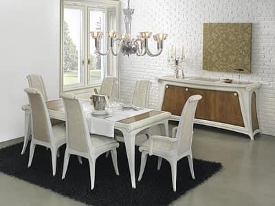 Tavolo in legno tavolo allungabile tavolo in stile for Tavolo legno antico allungabile
