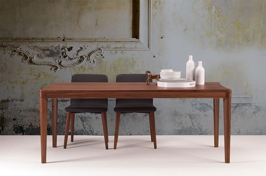 Tavolo in legno per la sala da pranzo e la cucina | IDFdesign