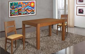 Art. 663, Tavolo in legno dal design rigoroso