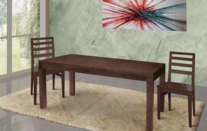 Art. 669, Tavolo in legno per zona giorno moderna e ricercata