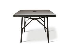 Campo 5720/F, Tavolo in legno con gambe a forcella