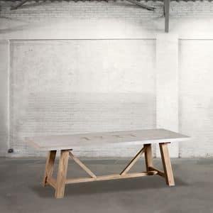 Immagine di DB003262, tavoli-pranzo-legno-naturale