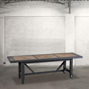 Immagine di DB003263, tavolo-pranzo-legno-verniciato