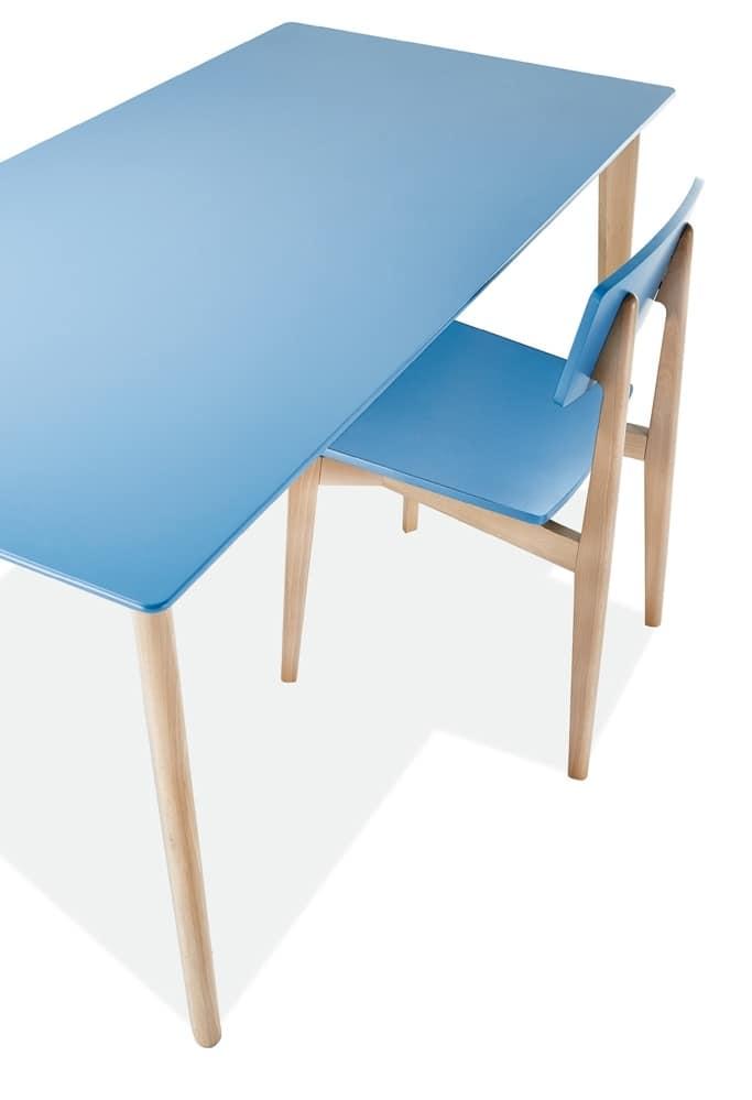 Tavolo rettangolare varie dimensioni idfdesign - Dimensioni tavolo ...