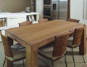 Gaia 114, Tavolo in legno massello di frassino