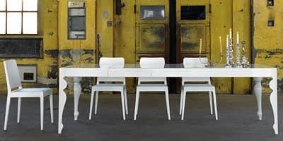 P08a Classico contemporaneo Indice categorie Tavoli Tavoli allungabili ...