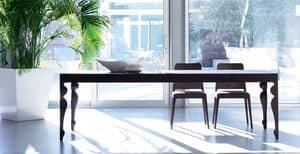 Giunione, Tavolo allungabile in legno di rovere