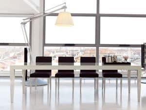 Immagine di Morgan, tavoli legno con allunga