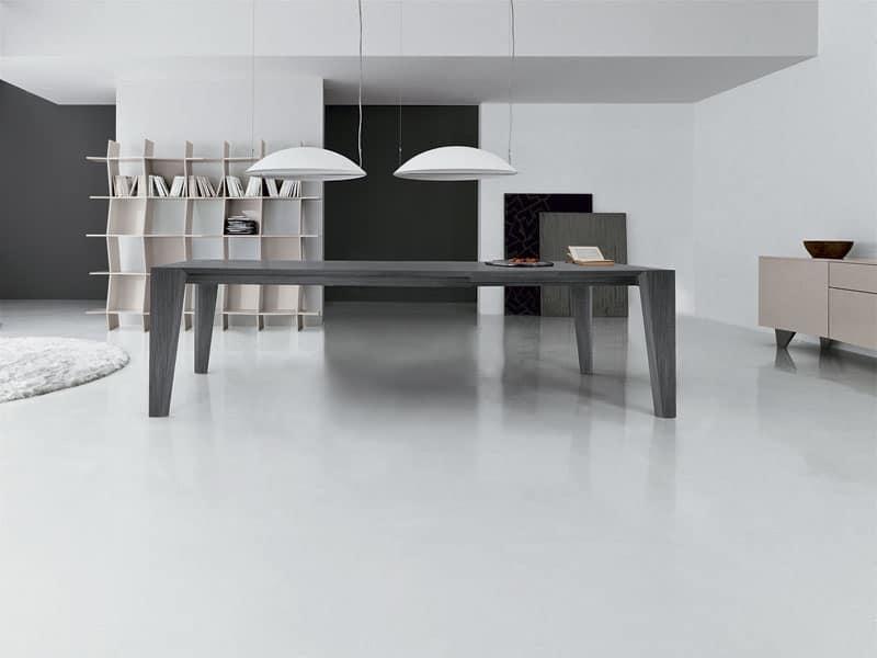 Tavoli tondi allungabili moderni tavolo allungabile apertura a libro idea home creativity elton - Tavoli a libro moderni ...
