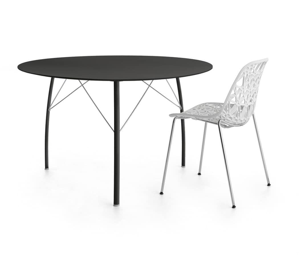 HOME P12 Alto Design Prodotti Tavoli Tavoli Alto Design Legno Tondi #565553 1049 900 Quanto è Alto Un Tavolo Da Pranzo