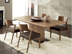 Immagine di Vita, tavolo allungabile elegante