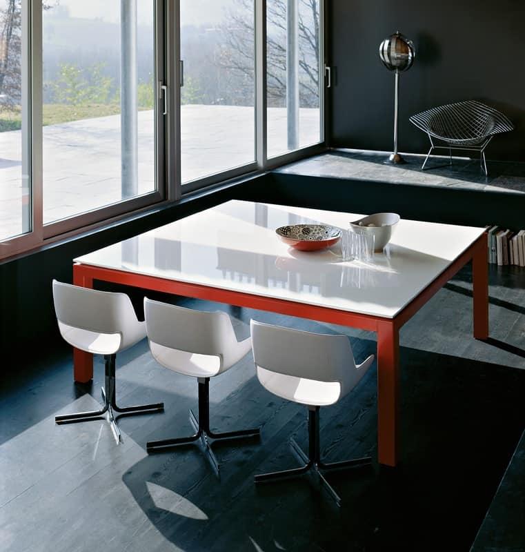 Tavoli Tavoli Design Moderno metallo legno IDF