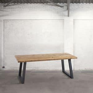 Immagine di DB003758, tavolo-pranzo-piano-legno