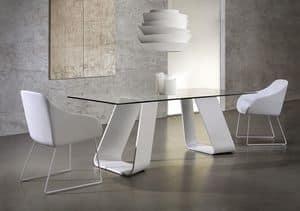 Immagine di KRONOS, tavolo pranzo legno naturale