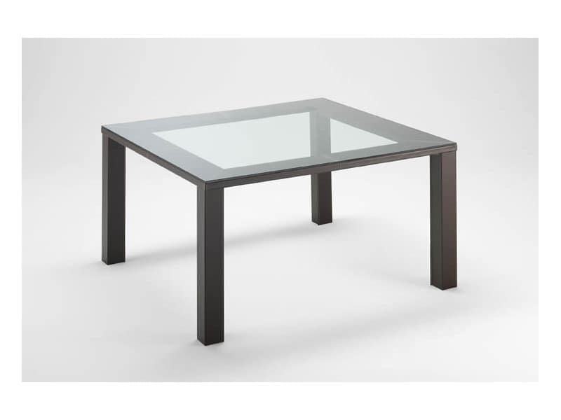Tavoli tavoli design moderno legno vetro idf for Tavolo contemporaneo