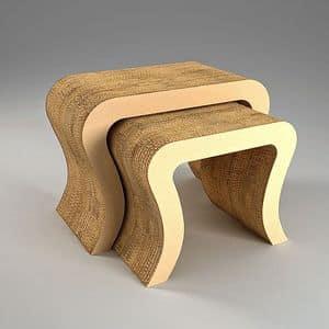 Immagine di DOUBLE, tavoli-in-materiale-riciclabile