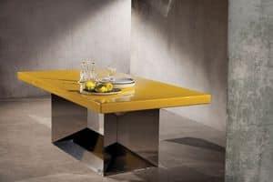 Immagine di Banchetto, tavolo-struttura-metallica