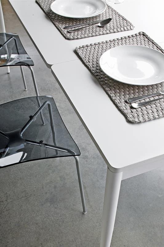 Tavolo Cucina Decorato Jack Cantori : Tavolo allungabile base in metallo economico per hotel