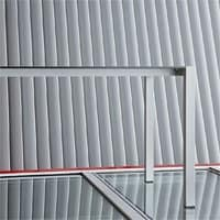Space cod. 101, Tavolo rettangolare in alluminio, in diversi colori