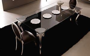 Antares Art. 222-VR3, Tavolo con gambe in fusione di alluminio