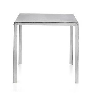 TA50, Tavolo quadrato in acciaio zincato