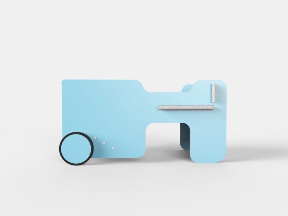 Tavolo per bambini a forma di auto idfdesign - Tavoli gioco per bambini ...