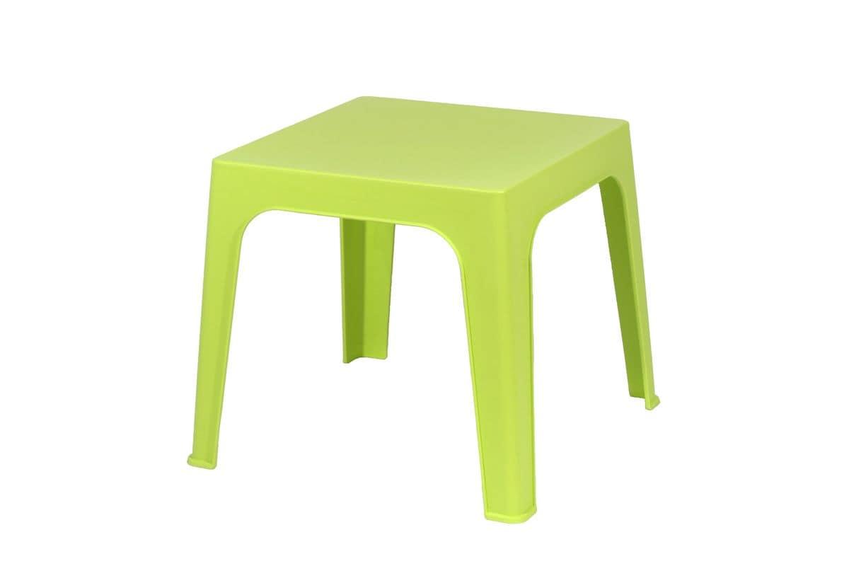 Tavoli In Plastica Impilabili.Tavolino Per Bambini Impilabile Ideale Per Asili E Scuole Materne