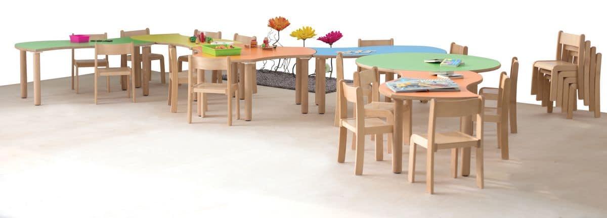 Casa immobiliare, accessori: Tavoli gioco bambini