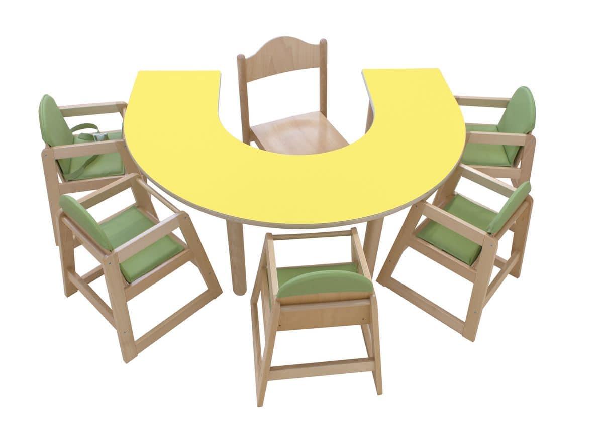 Legno giardino ispirazioni for Tavolo e sedia bambini