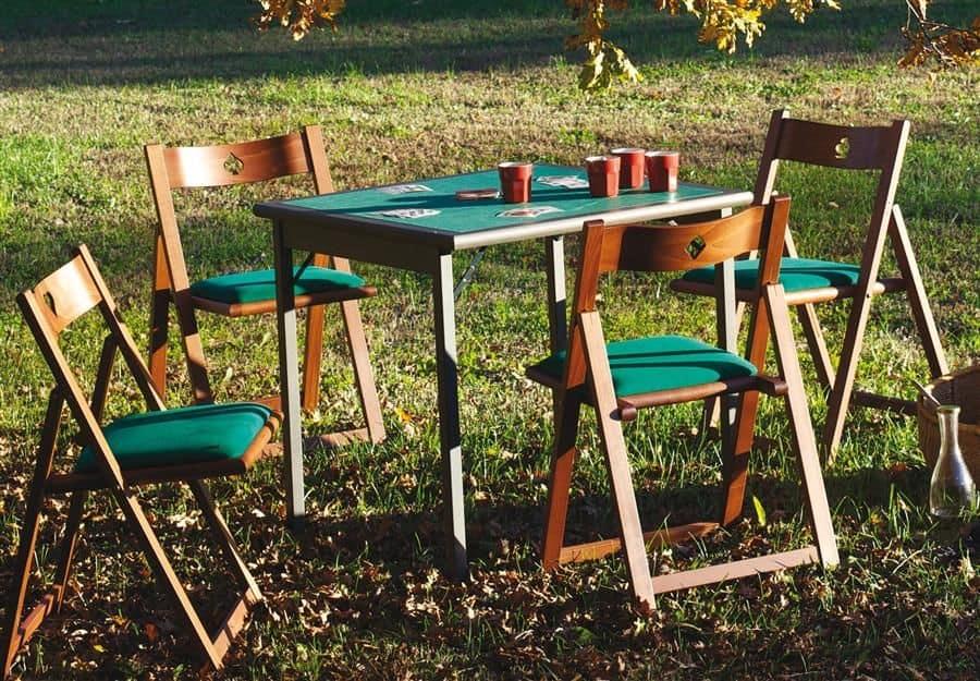 713c torneo tavolo da gioco tavolo pieghevole da gioco con panno verde professionale idfdesign - Tavoli da gioco carte pieghevoli ...