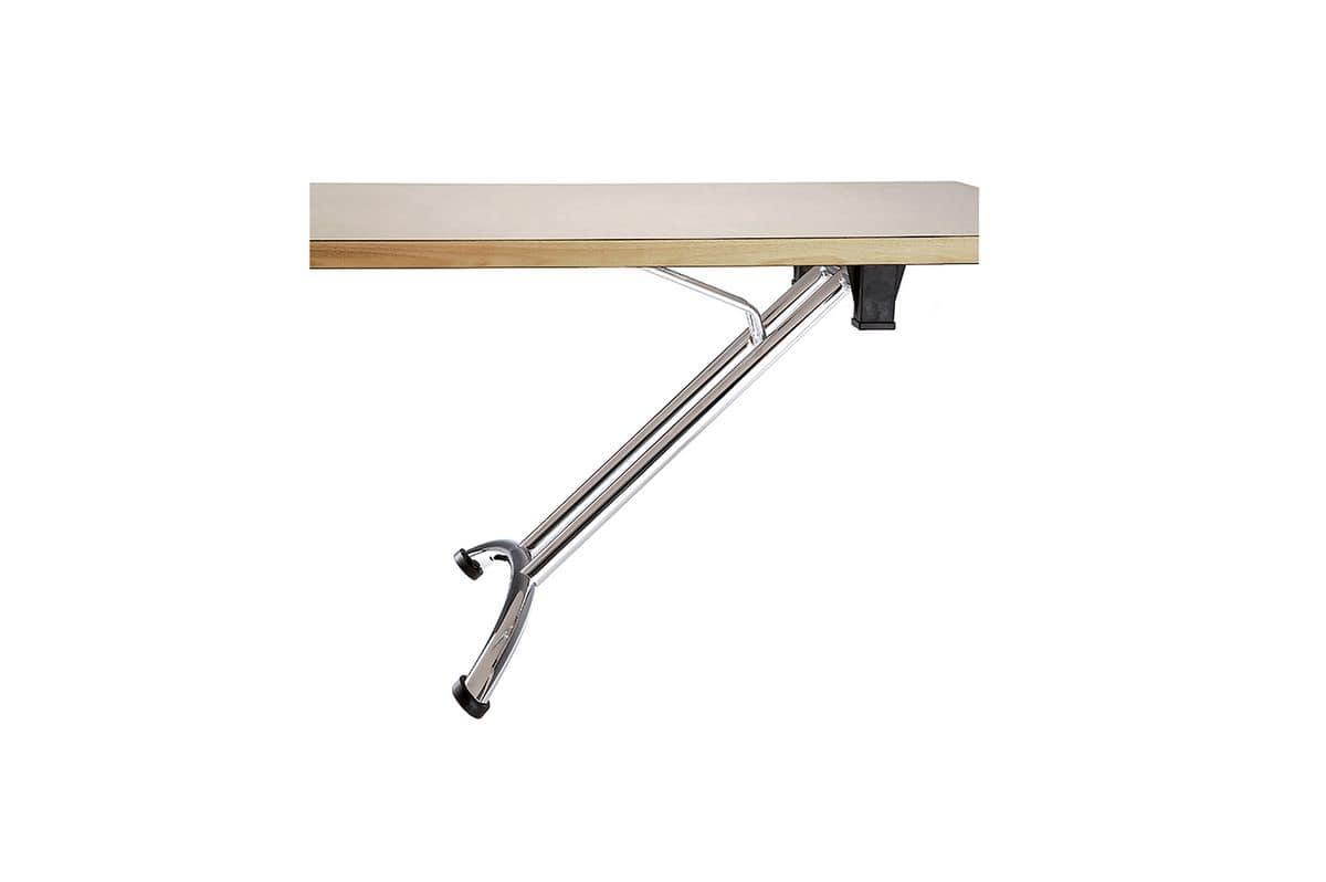 Tavolo con gambe pieghevoli con piedini regolabili - Ikea tavolini pieghevoli ...