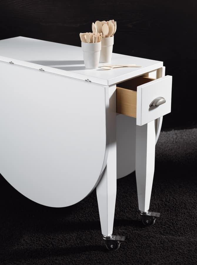 Emejing tavoli pieghevoli da cucina images home interior - Tavolo pieghevole cucina ...
