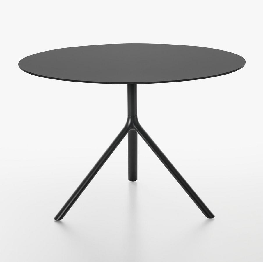 Tavolo rotondo con piano ribaltabile  IDFdesign