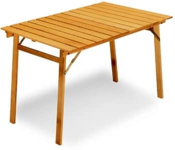Tavoli riponibili tavolo p rettangolare for Tavolo pieghevole design