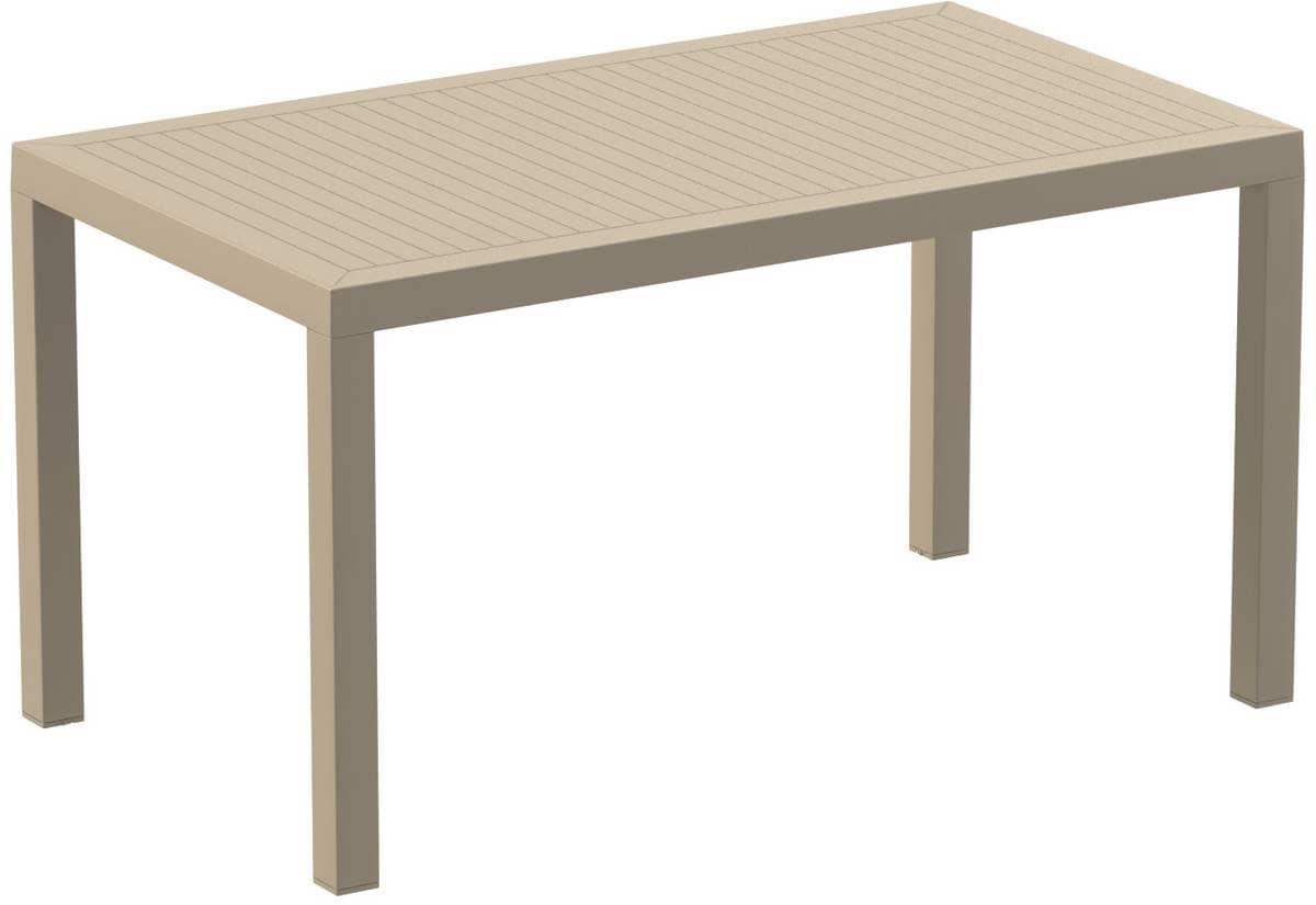 HOME P09 Esterni Prodotti Tavoli Tavoli Per Esterni Plastica Squadrati #806A4B 1200 825 Ikea Tavoli Di Cucina