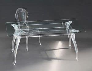 Immagine di Belle Epoque tavolo rettangolare, tavolo-esterno