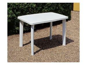 Faretto, Tavolo per giardino, in plastica durevole