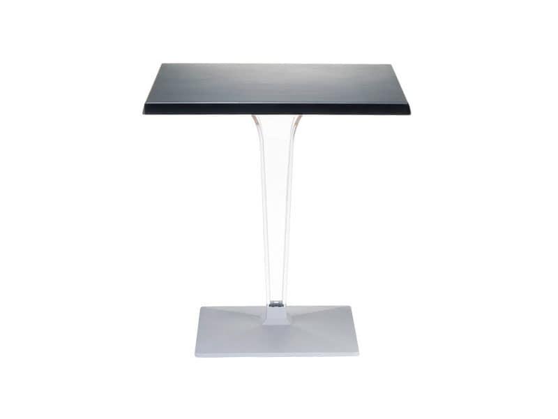 Ice, Tavolino per esterno, in policarbonato, per terrazza