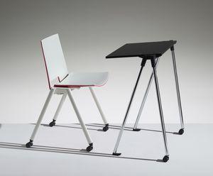 WORKING, Tavolino di servizio per sale polifunzionali