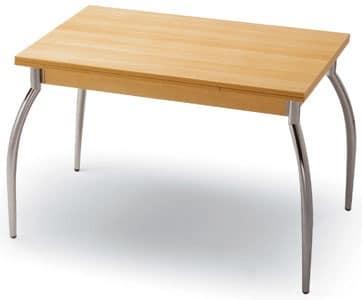 Tavoli piano lavabile kot 70x110 for Tavolo 70x110 allungabile