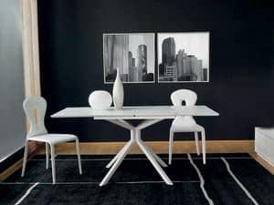 Immagine di Tiago, tavoli con piano materiale plastico