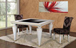 Art. 675, Tavolo quadrato con piano in vetro