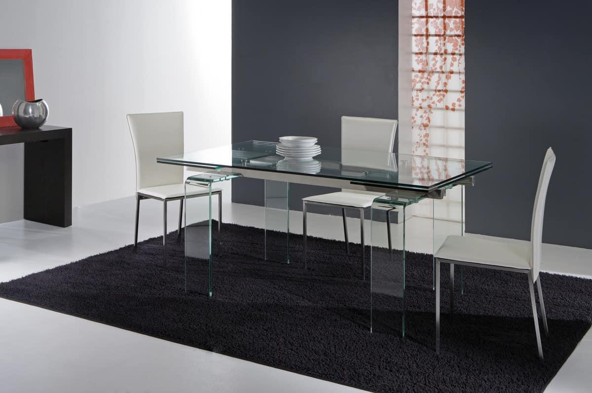 Tavoli Da Pranzo Con Piano Vetro : Tavoli Tavoli Allungabili  #893C37 1200 797 Tavoli Da Pranzo Con Piano Vetro