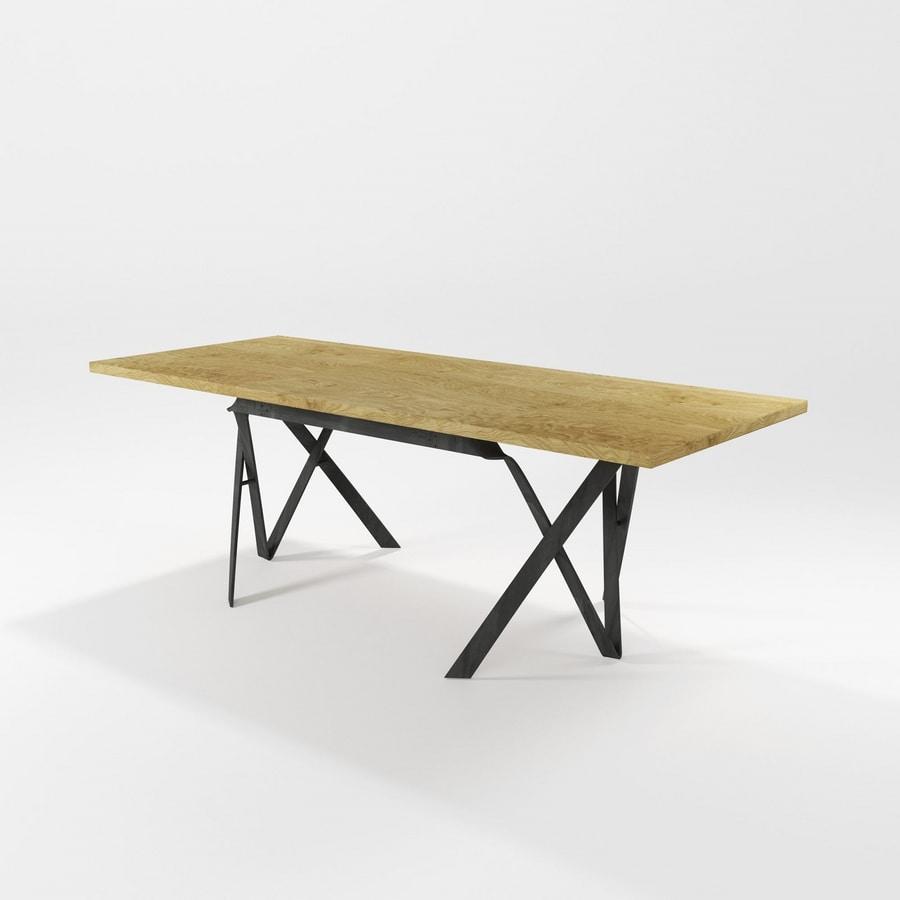 Tavolo da pranzo ovali moderni idee creative di interni - Tavoli da pranzo moderni ...