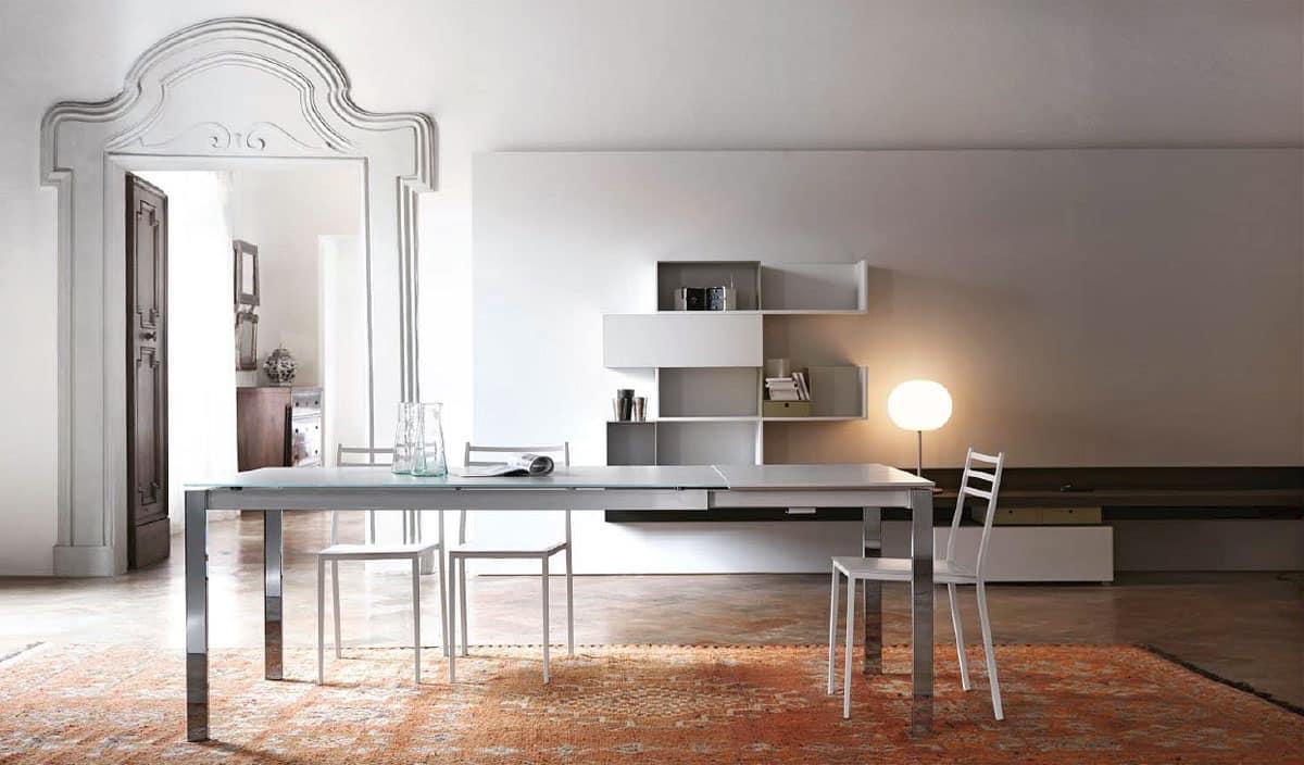 Tavoli Struttura Allungabile Cucina Moderna Idfdesign